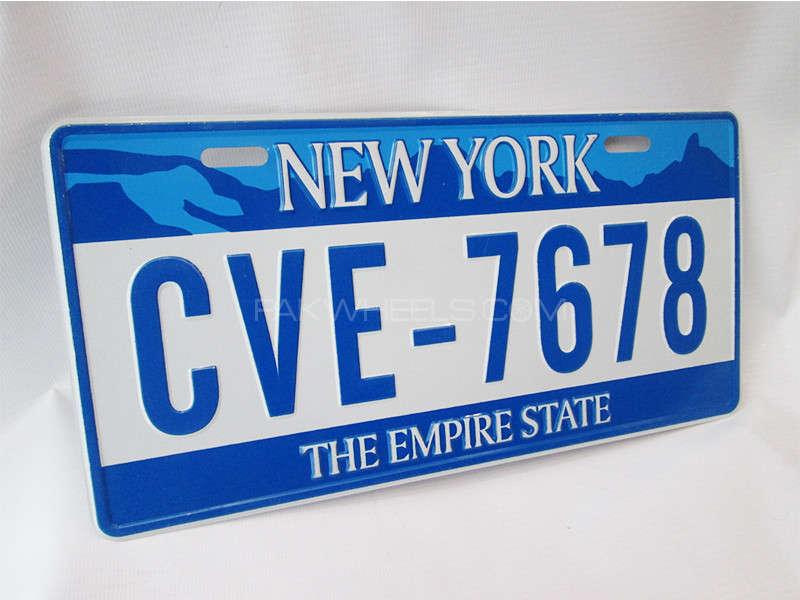 Number Plate - CVE-7678  Image-1