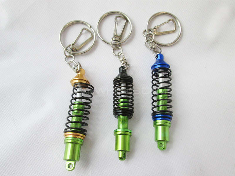 Key Chain - Shock With Spring Image-1