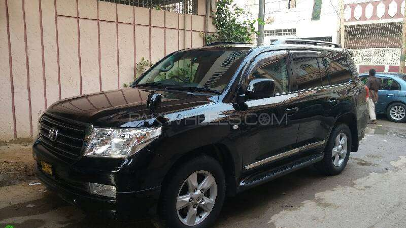 Toyota Land Cruiser AX G Selection 2008 Image-2
