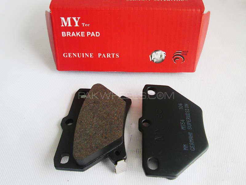 Rear Brake Pad Toyota CELICA ZZT23 - M554 - 1999-2005 Image-1