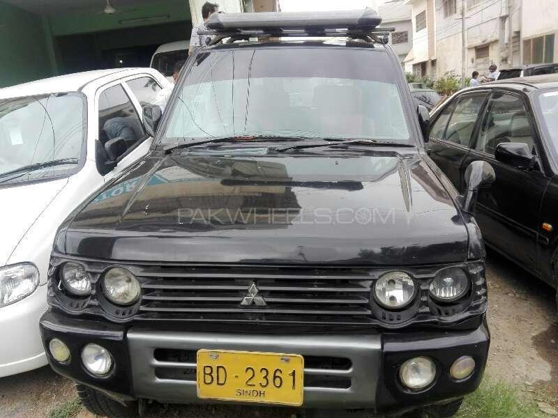 Mitsubishi Pajero Mini 2002 Image-1