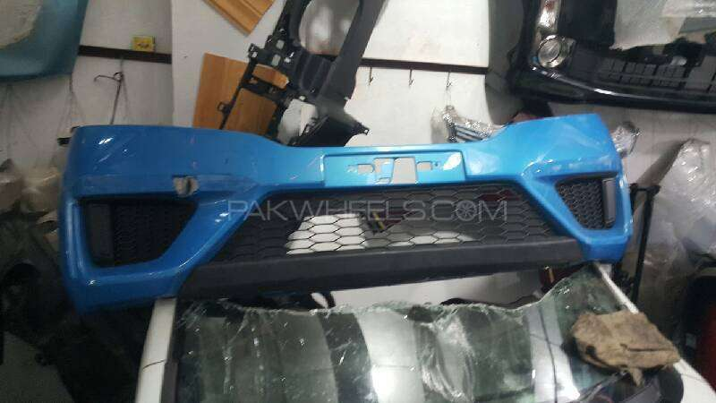 honda fit hybrid new shape front bumper Image-1