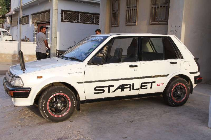 Toyota Starlet 1.3 1986 Image-9