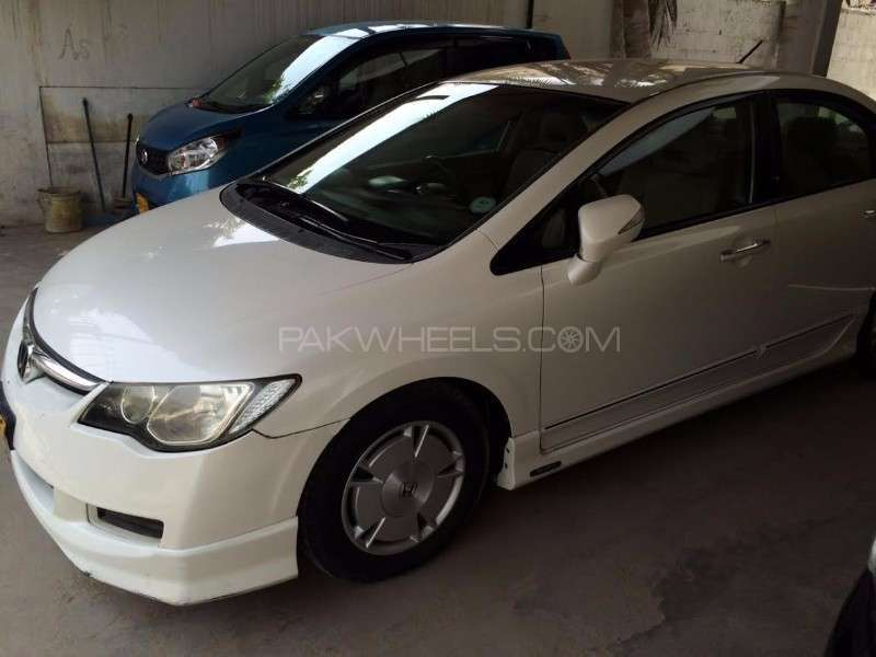 honda civic hybrid 2005 for sale in karachi pakwheels. Black Bedroom Furniture Sets. Home Design Ideas