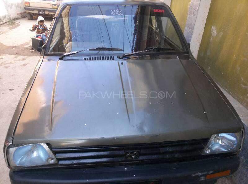 Subaru Brz R 1986 Image-1