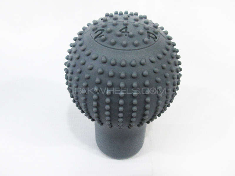Gear Knob Cover Rubber Grey - PA10 Image-1