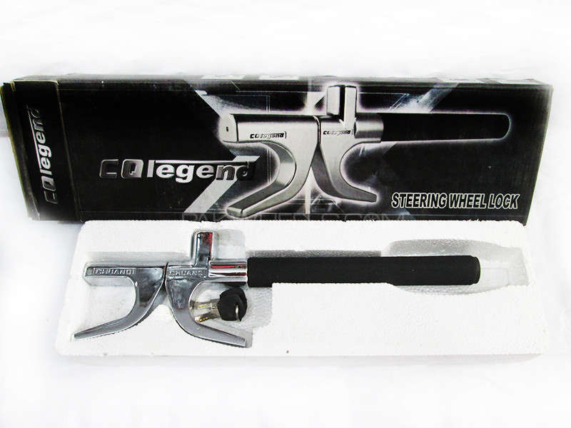 Steering Lock CQ Legend Black - PA10 Image-1