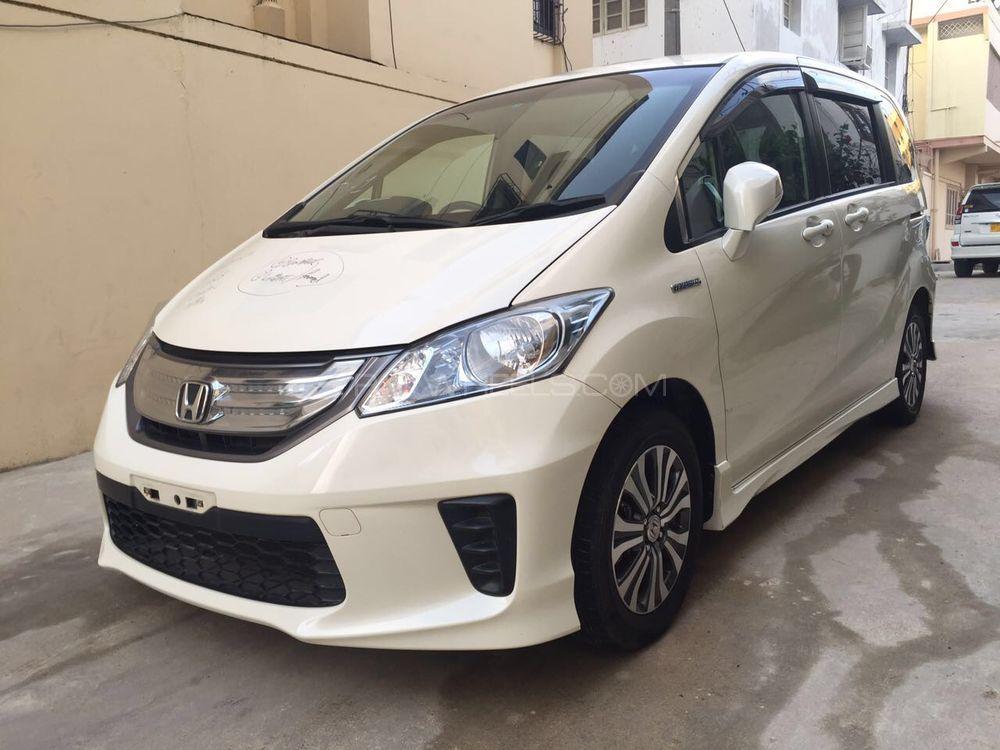 Honda Freed Hybrid 2011 For Sale In Karachi Pakwheels