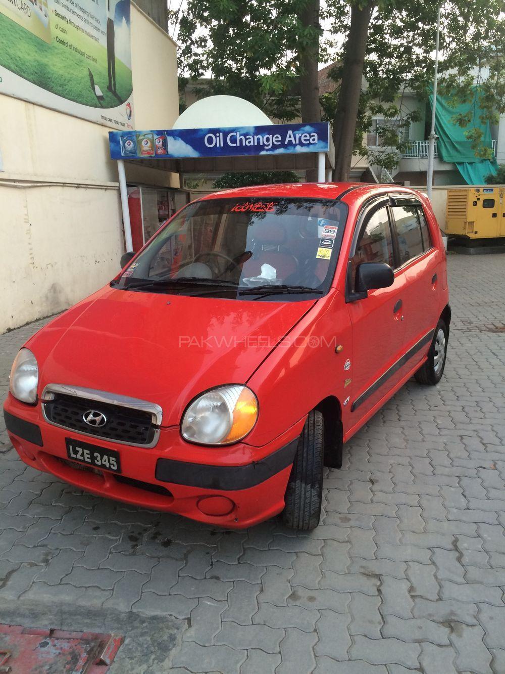Hyundai Santro Club GV 2004 Image-4