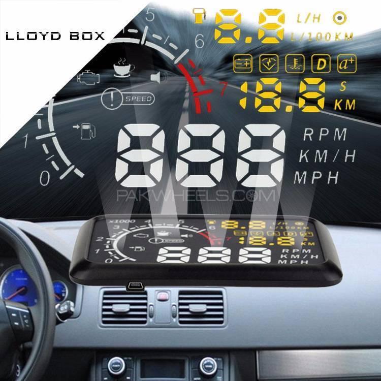 """""""Model W02"""" HUD OBD2 CARS Head Up Display Fuel Consumption Image-1"""