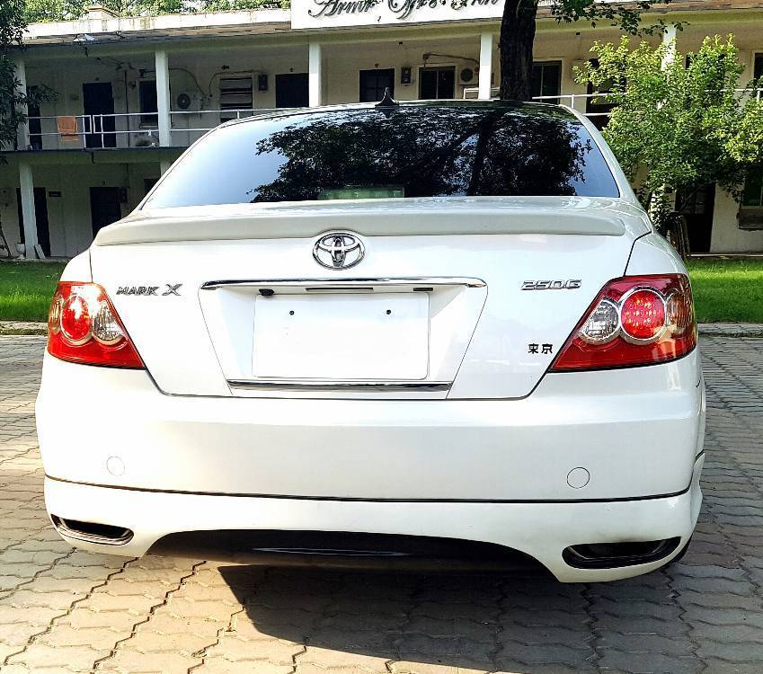 Toyota Mark X 250G S Package 2004 Image-4