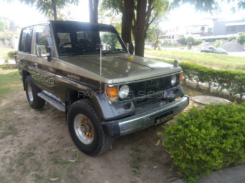Toyota Land Cruiser RKR 1987 Image-1