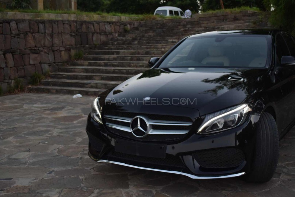 mercedes benz c class c180 amg 2016 for sale in islamabad pakwheels. Black Bedroom Furniture Sets. Home Design Ideas