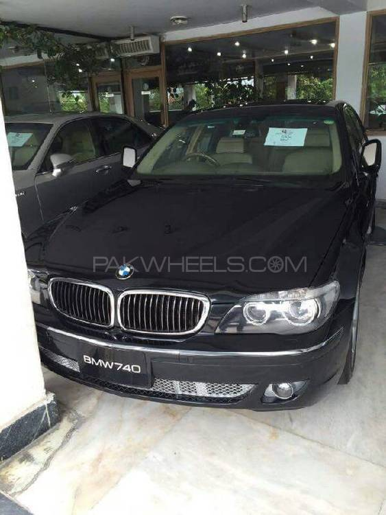 BMW 7 Series 745i 2007 Image-1