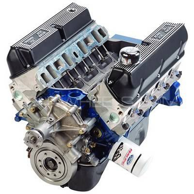 Ford Racing Boss 345 HP Crate Engines M-6007-X302B Image-1