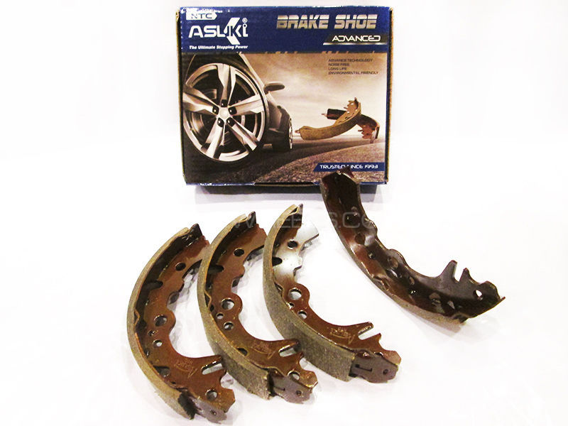 Suzuki Mehran Asuki Advanced Rear Brake Shoe -A-7728 Image-1
