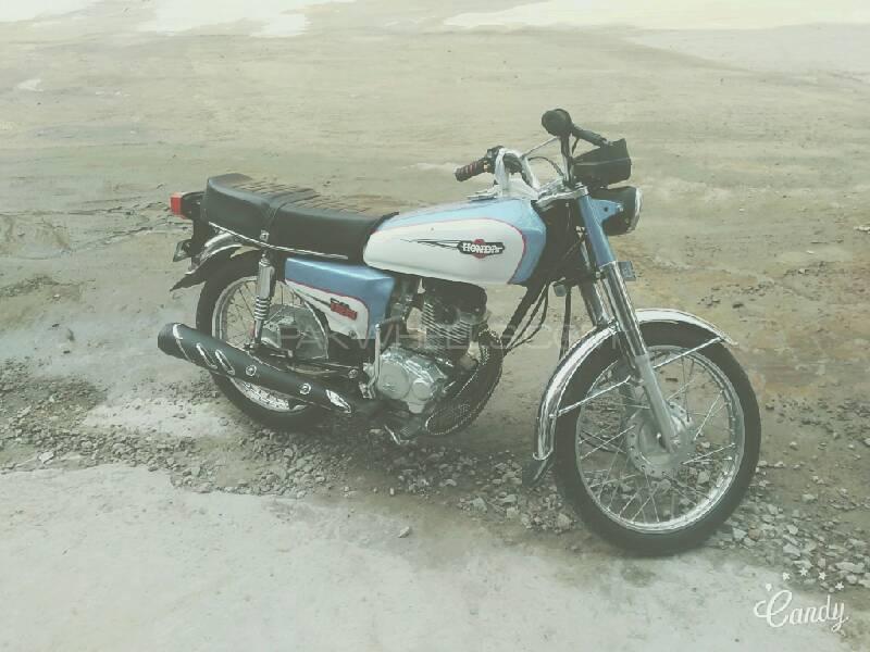 Honda CG 125 2007 Image-1