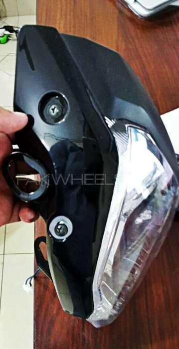 Yamaha FZ16 Visor, Headlight, Beam imported Image-1