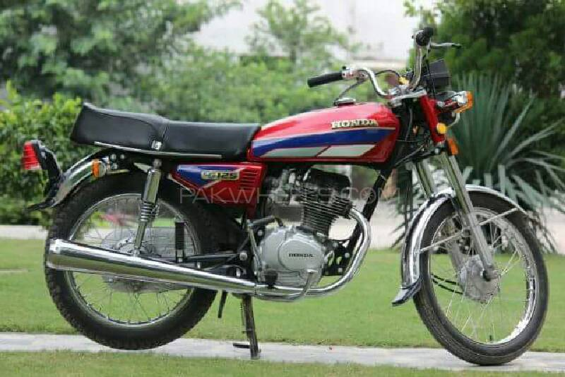 used honda cg 125 1990 bike for sale in lahore 170118. Black Bedroom Furniture Sets. Home Design Ideas