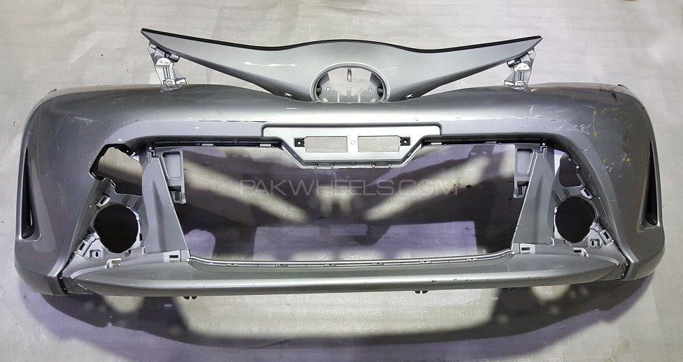 Toyota Vitz Front Bumper (NEW SHAPE) Image-1