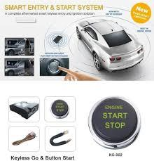 Car Passive Keyless Entry Remote Engine Start Push Button Image-1