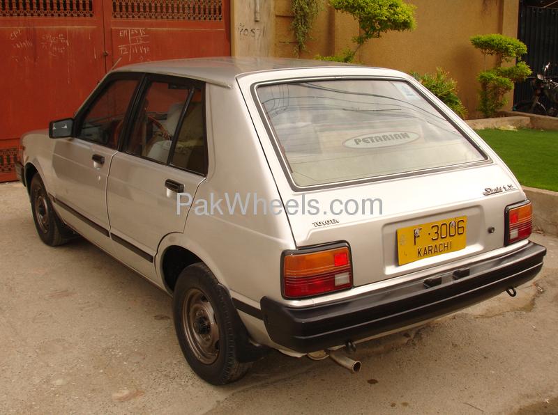 Toyota Starlet 1984 Image-4