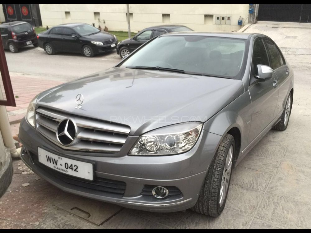 mercedes benz c class 2007 for sale in islamabad pakwheels. Black Bedroom Furniture Sets. Home Design Ideas