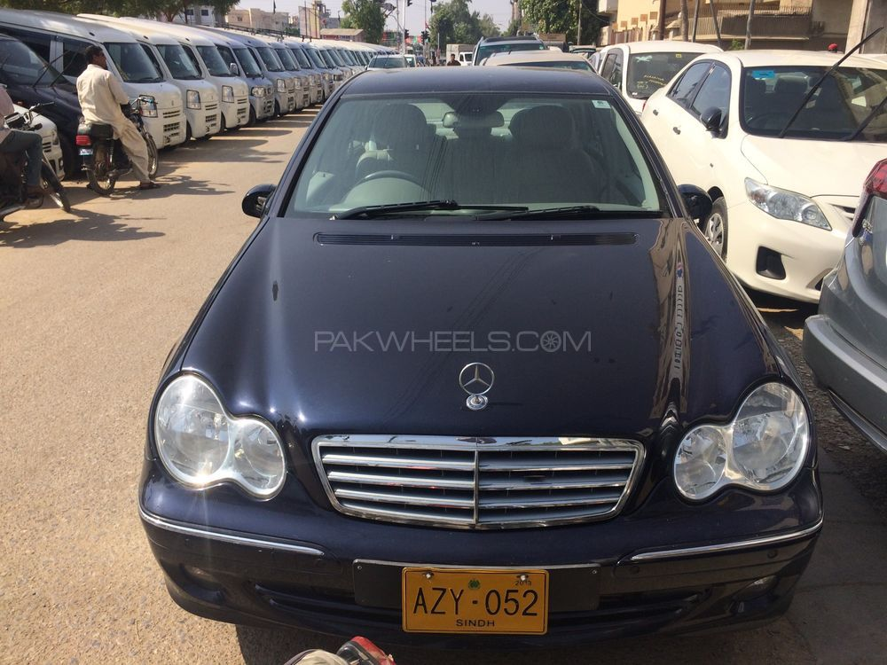 mercedes benz c class 2006 for sale in karachi pakwheels. Black Bedroom Furniture Sets. Home Design Ideas