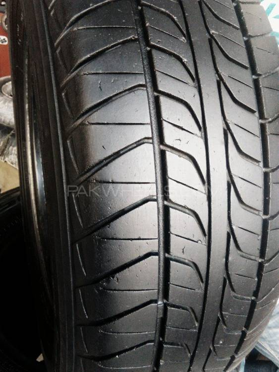 4tyres 185/70/R/13 japani 8/10 condition Image-1