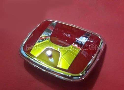 Honda Red Logo 95-2000 Image-1