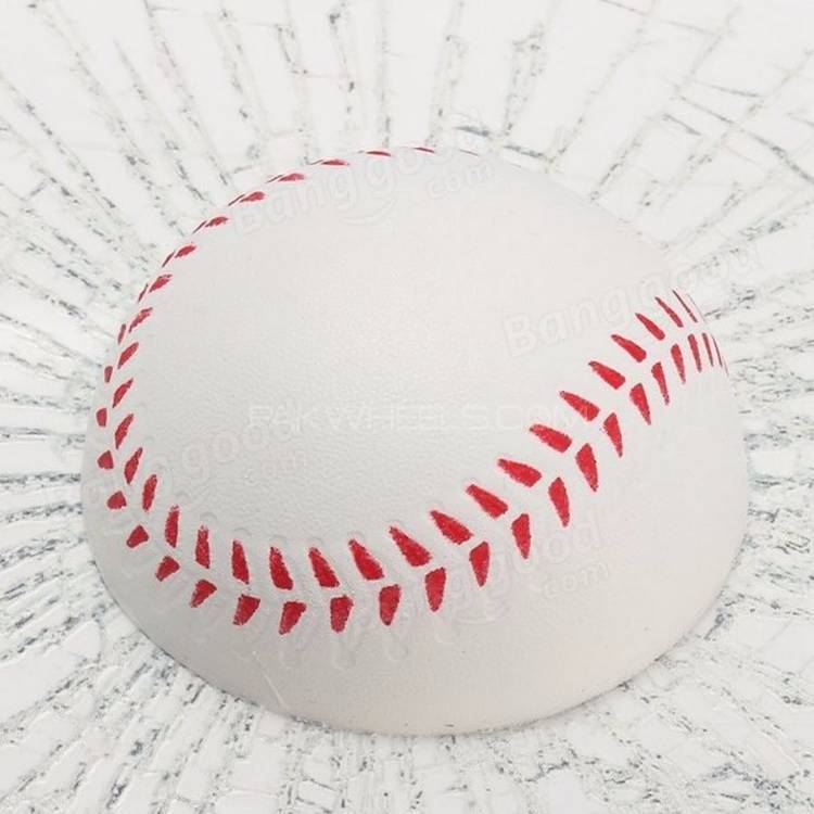 3D Base Ball Sticker  Image-1