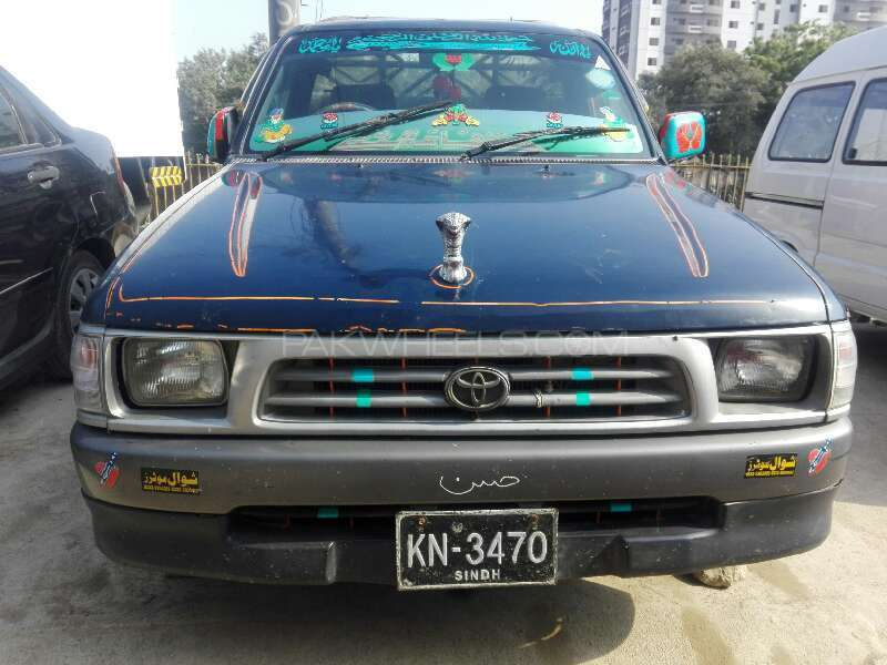 Toyota Hilux 4x2 Single Cab Standard 2005 Image-1