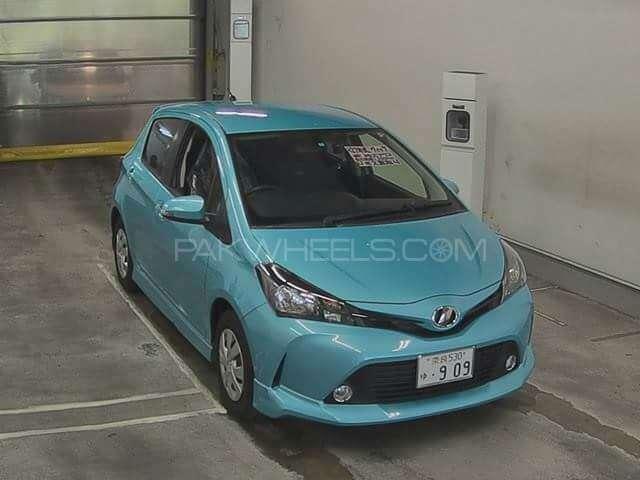 Toyota Vitz F 1.3 2015 Image-1