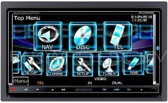 Kenwood DDX-8036BTM 5.1 supported Surround sound system for car. Image-1