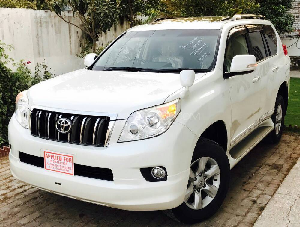 toyota prado tx 2 7 2011 for sale in islamabad