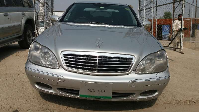 Mercedes Benz S Class S500 2002 Image-1