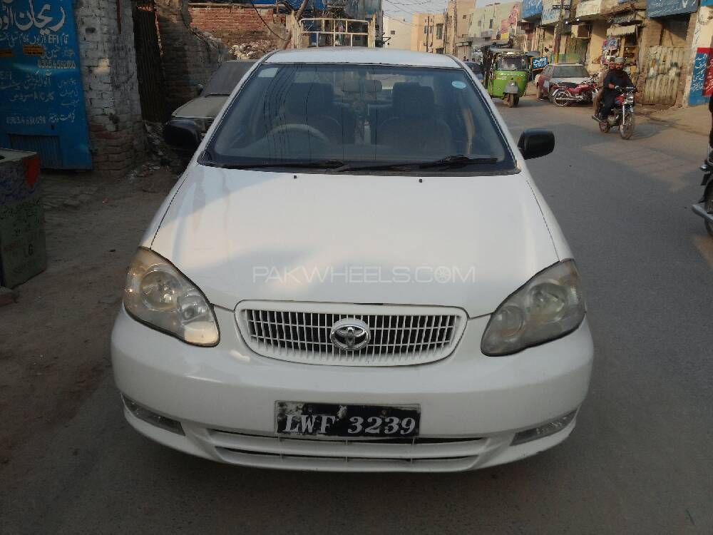 toyota corolla xli 2006 for sale in lahore pakwheels. Black Bedroom Furniture Sets. Home Design Ideas