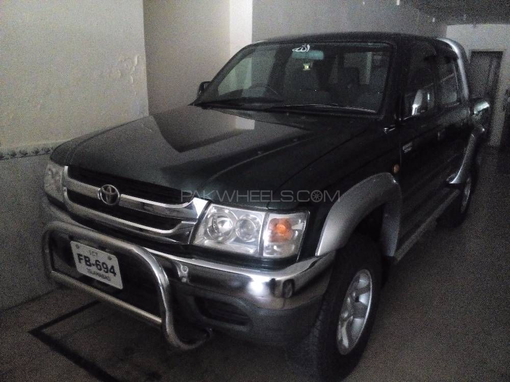 Toyota Hilux Tiger 2001 Image-1