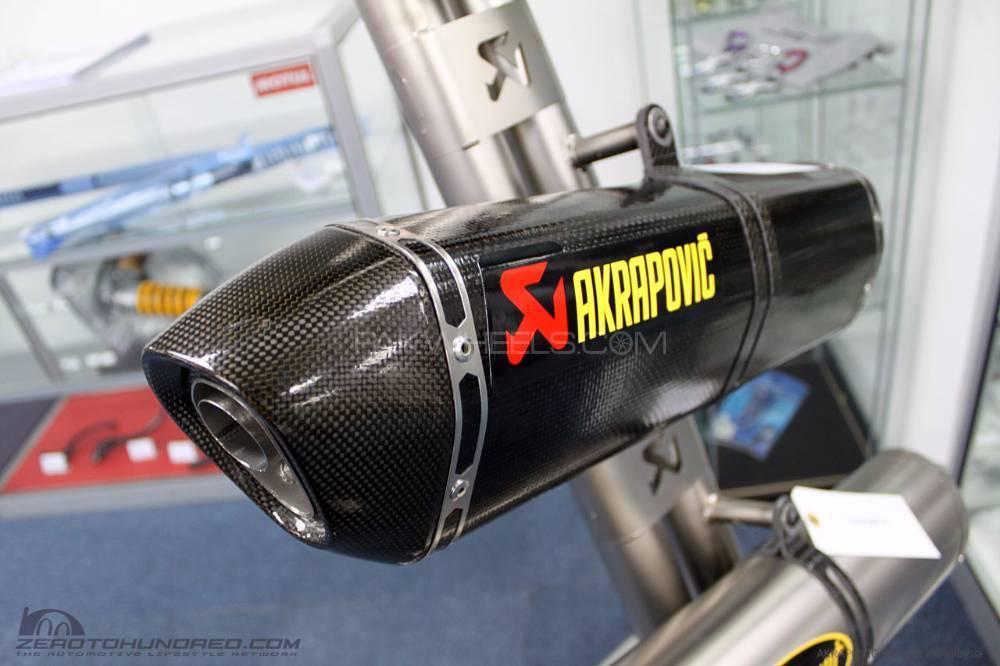 Akrapovic orignal exhausts mufflers Image-1