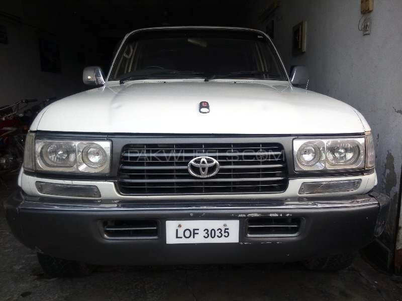 Toyota Land Cruiser VX Limited 4.2D 1990 Image-1