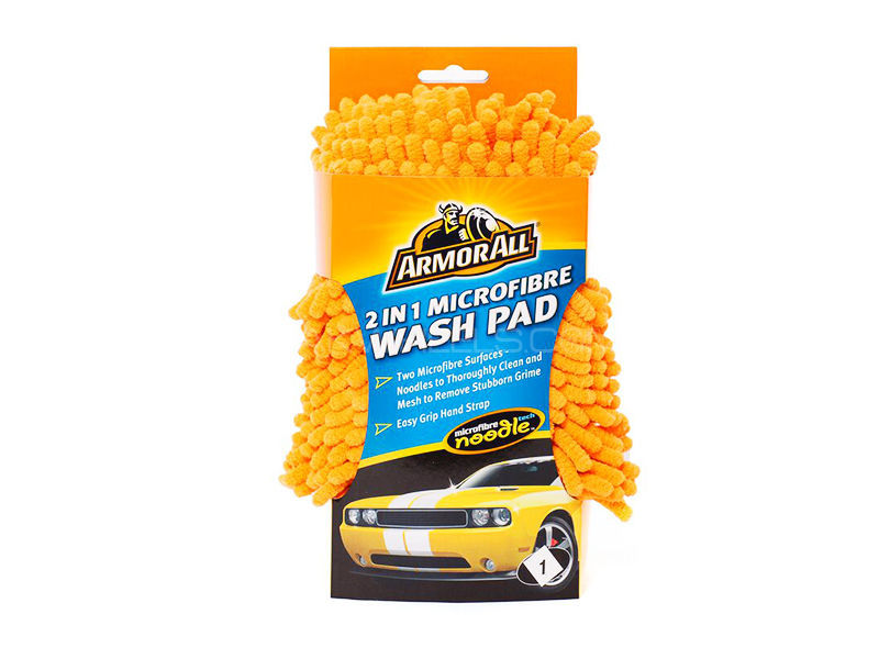 ARMORALL 2 in 1 Microfibre Noodle Wash Pad Image-1