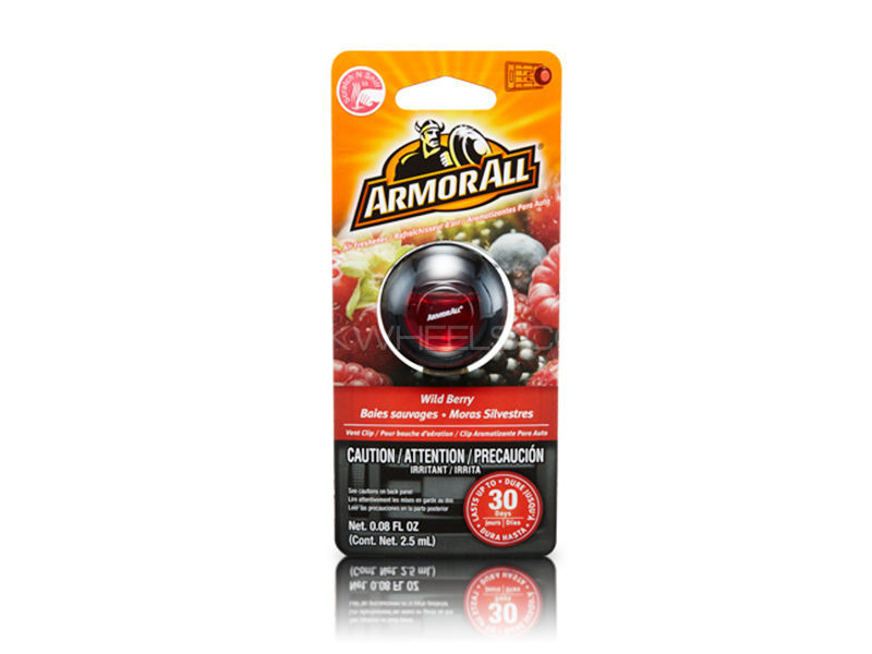 ARMORALL Scented Membrane Vent Clip - Wild Berry  Image-1