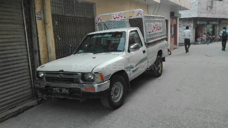 Toyota Hilux Single Cab 1992 Image-1