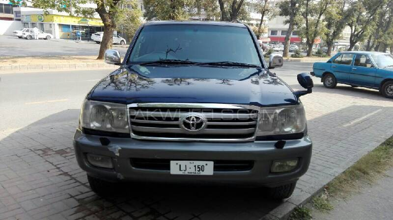 Toyota Land Cruiser Amazon 4.2D 2001 Image-1