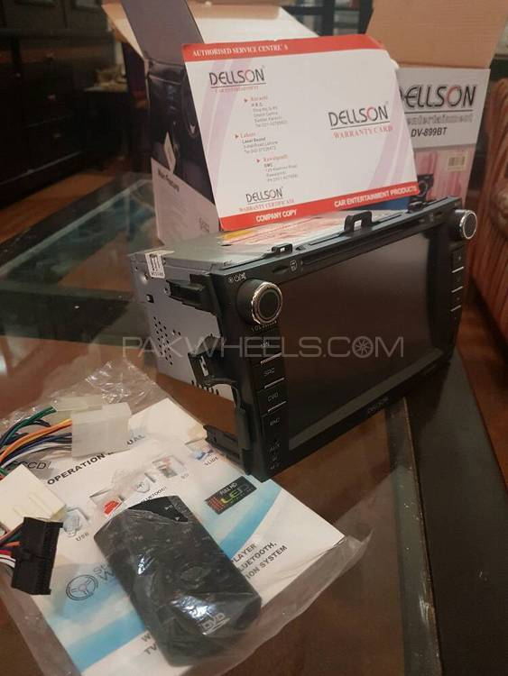 "9""tv brand new for corolla 09 model to 2014 and axio Image-1"