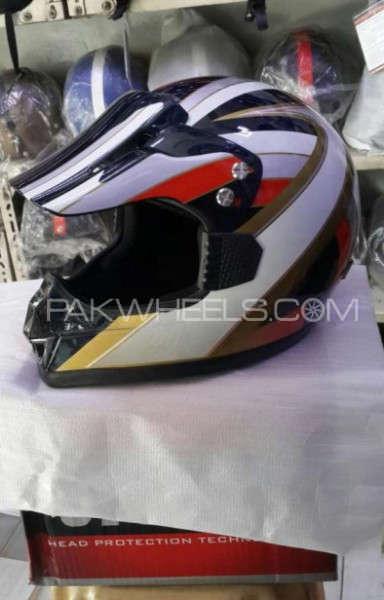 Motocross Tondar DOT helmet Motocross Tondar DOT helmet Image-5 Motocross Tondar DOT helmet Image-1  Image-1