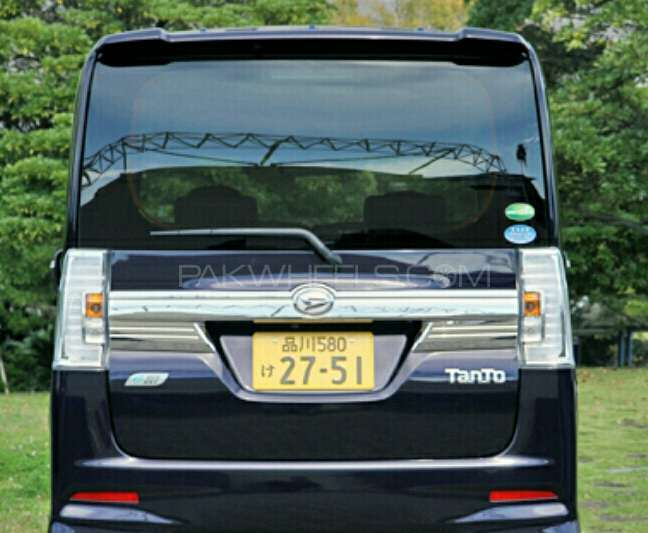 Daihatsu tanto new model back grill Image-1