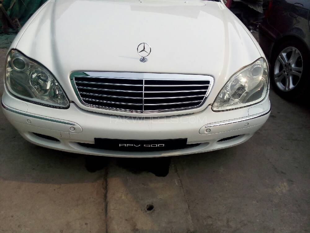Mercedes Benz S Class S500 2000 Image-1