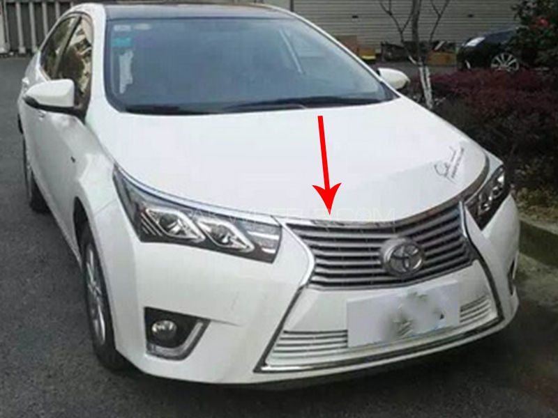 Toyota Corolla 2014 2016 Front Bumper Lexus Style Without Headlights For Sale In Pakwheels