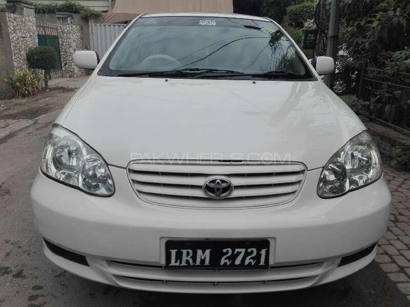 Toyota Corolla XLi VVTi 2003 Image-1